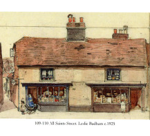 All Saints Street - Leslie Badham 1925