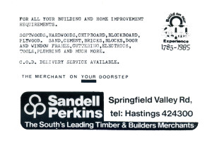 Sandell Perkins (advert June 1987)