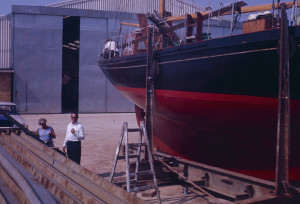 The Scarab at Cobbs Quay, Hamworthy, Poole, 1968.