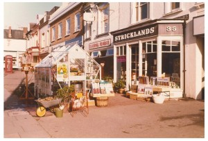 Stricklands' shop in the 1970s