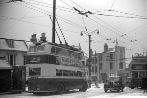 Silverhill - Roxy Cinema & trolleybuses