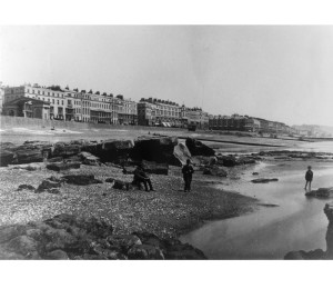 St Leonards seafront, 1872
