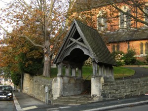 St Peter's lychgate