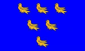 Sussex Association Flag