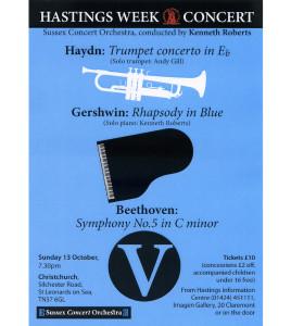 Sussex Concert Orchestra 13 Oct 2013