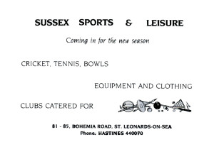 Sussex Sports & Leisure (June 1987)