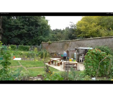 Bohemia Walled Garden panoramic view 14 Sep 2013