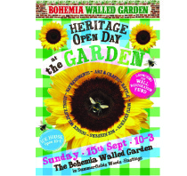 Bohemia Walled Garden - Heritage Open Day 15 Sep 2013