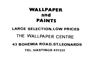 Wallpaper Centre (advert June 1987)